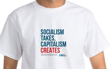 Socialism Takes, Capitalism Creates Shirt
