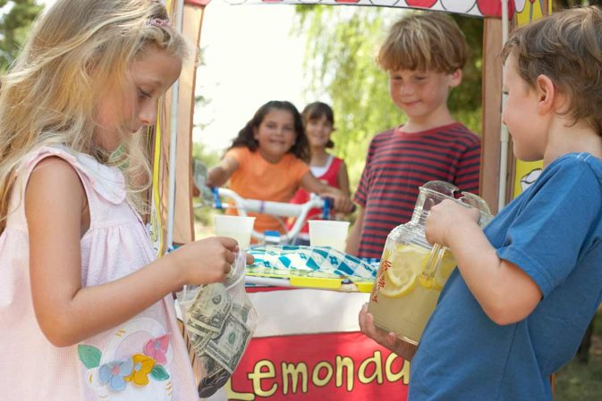 Lemonade Day by Michael Holthouse