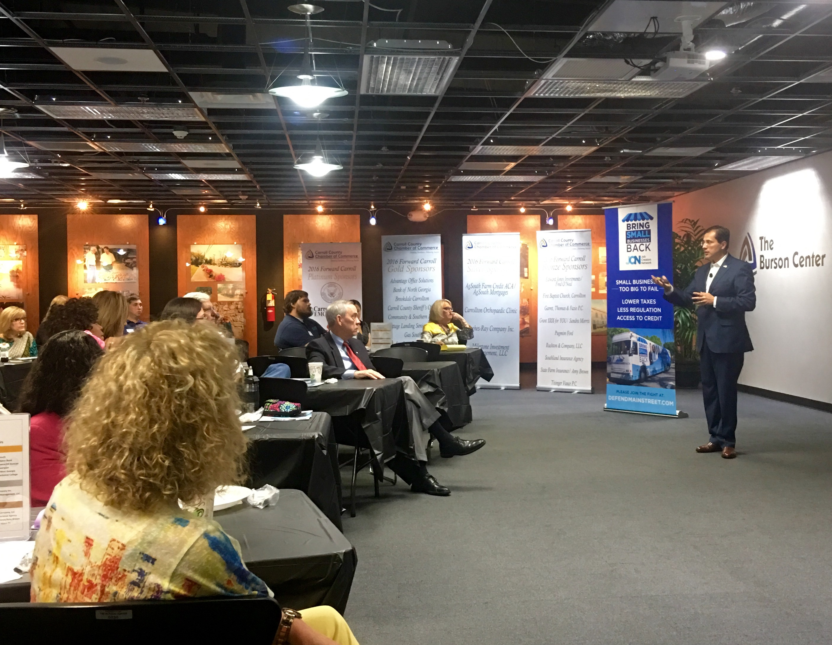 Bring Small Businesses Back - Carroll County COC - Job